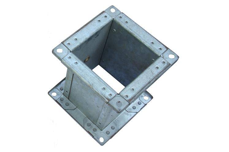 DF-CEU型无铆钉铆接机铆接样品