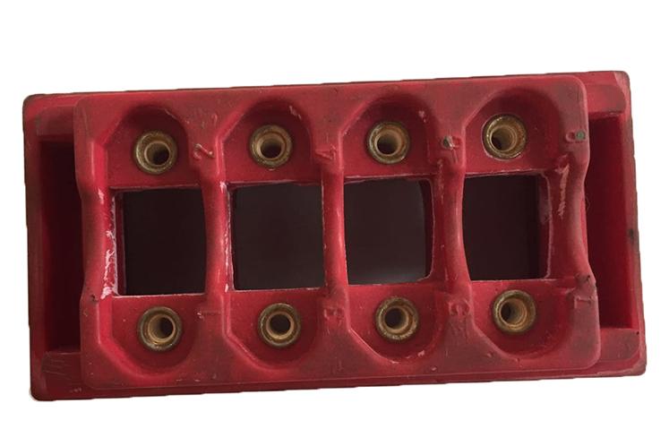 DF-CEC型气液增压铆接机铆接样品
