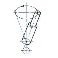 气压铆接机摆辗工作原理图